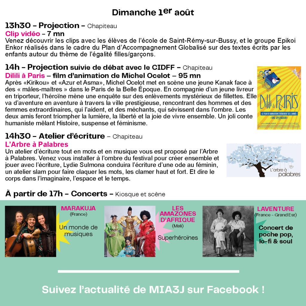 Dépliant programme MIA3J Web7
