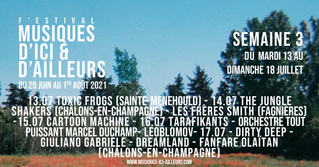 Festival MIA Annonce artiste Semaine 3 Bandeau
